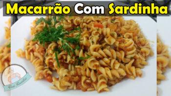 Macarrão com Sardinha